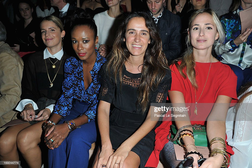 Valentino: Front Row - Paris Fashion Week Womenswear Spring / Summer 2013