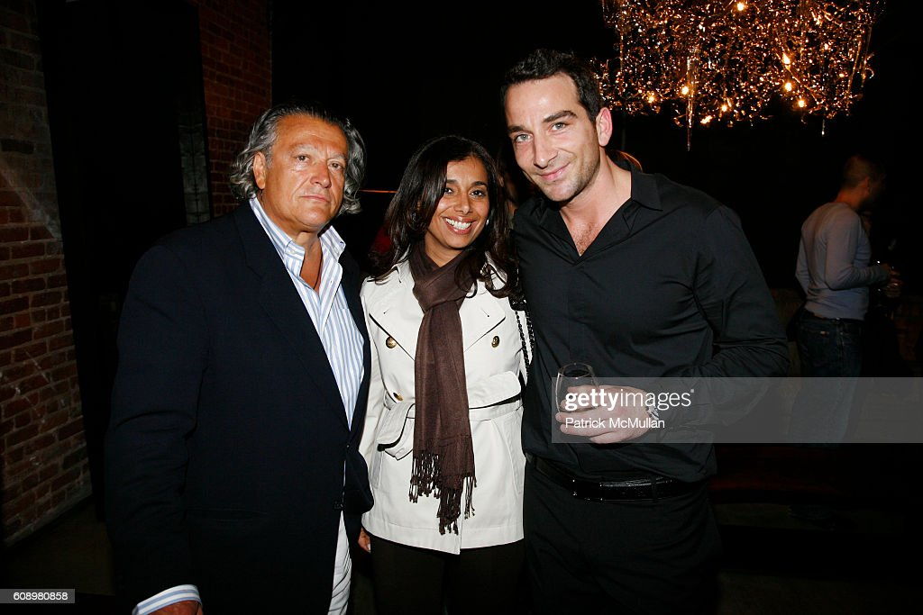 Eugenio Cannata, Susan Linss And Barlas Baylar Attend HUDSON FURNITURE INC.  Custom Collection Party
