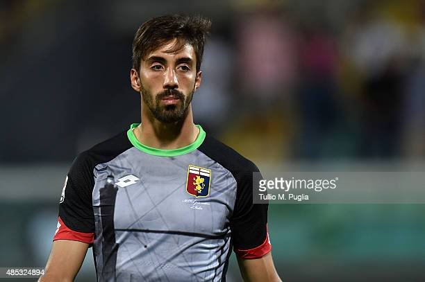 Eugenio Lamanna goalkeeper of Genoa looks on during the Serie A match between US Citta di Palermo and Genoa CFC at Stadio Renzo Barbera on August 23...