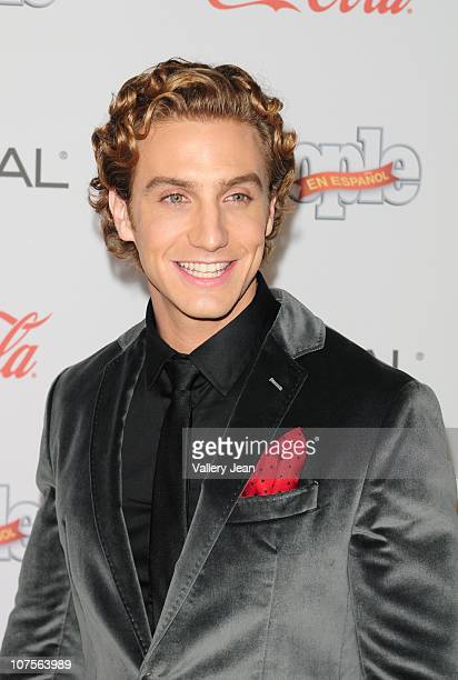 Eugenio Siller arrives at Premios People en Espanol 2010 event at Cafeina Lounge on December 9 2010 in Miami Florida