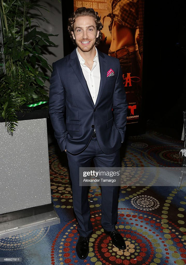 <a gi-track='captionPersonalityLinkClicked' href=/galleries/search?phrase=Eugenio+Siller&family=editorial&specificpeople=5619943 ng-click='$event.stopPropagation()'>Eugenio Siller</a> attends Telemundo Luncheon to launch 'Camelia Le Texana' during NATPE at Eden Roc Hotel on January 27, 2014 in Miami Beach, Florida.