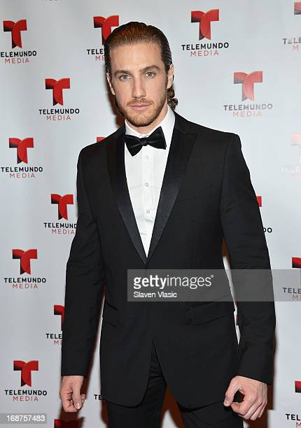 Eugenio Siller attends the 2013 Telemundo Upfront at Frederick P Rose Hall Jazz at Lincoln Center on May 14 2013 in New York City