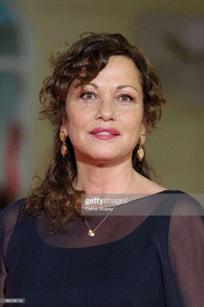 Eulalia Sa Ramon attends the 'Amor en su Punto' premiere during the 17th Malaga Film Festival at the Cervantes Theater on March 23, 2014 in Malaga, Spain.