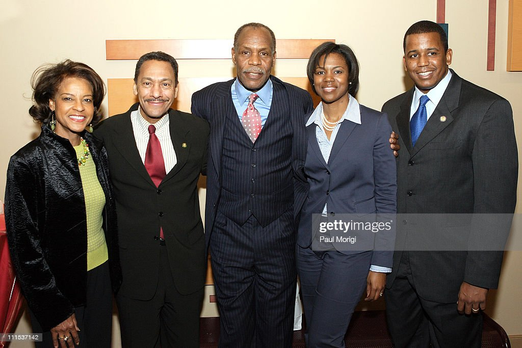 Eulanda Watt Congressman Mel Watt Danny Glover Leslie Meek and Congressman Kendrick Meek