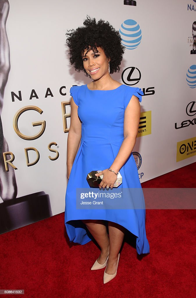 Eunique Jones Gibson attends the 47th NAACP Image Awards presented by TV One at Pasadena Civic Auditorium on February 5, 2016 in Pasadena, California.
