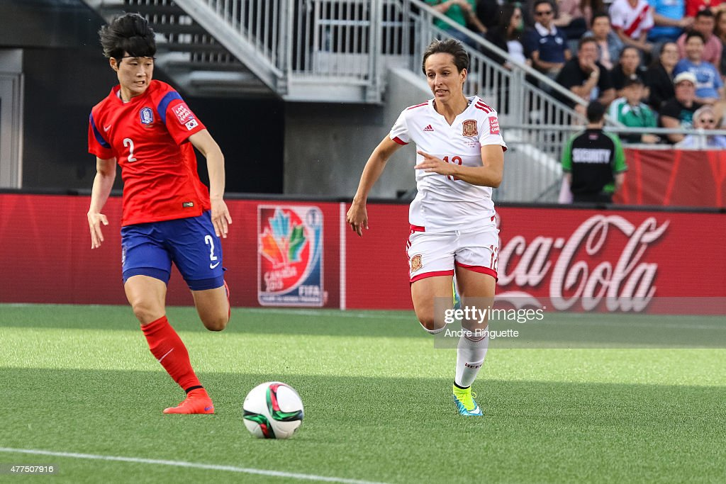 Korea Republic v Spain: Group E - FIFA Women's World Cup 2015