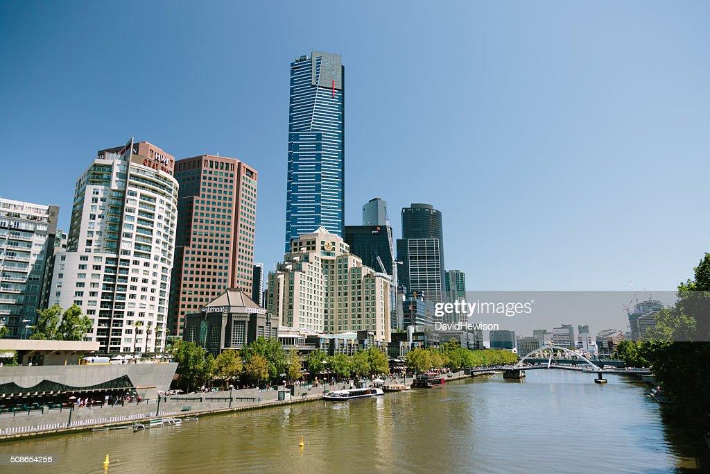 Eureka Tower, Melbourne : Stock Photo