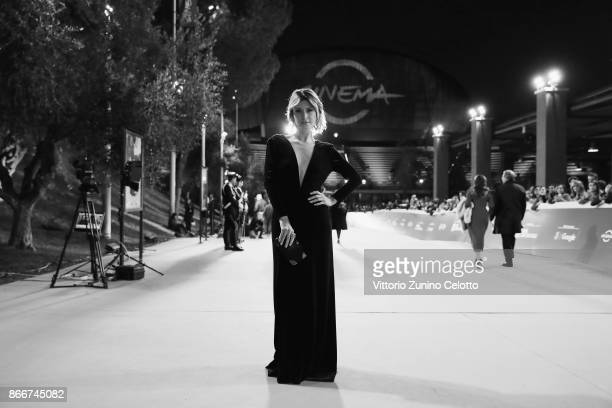 Euridice Axen walks a red carpet for 'Hostiles' during the 12th Rome Film Fest at Auditorium Parco Della Musica on October 26 2017 in Rome Italy