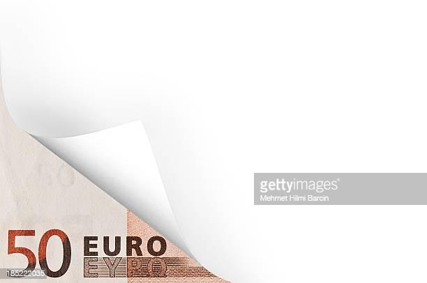 Euro und Seite Entspannen