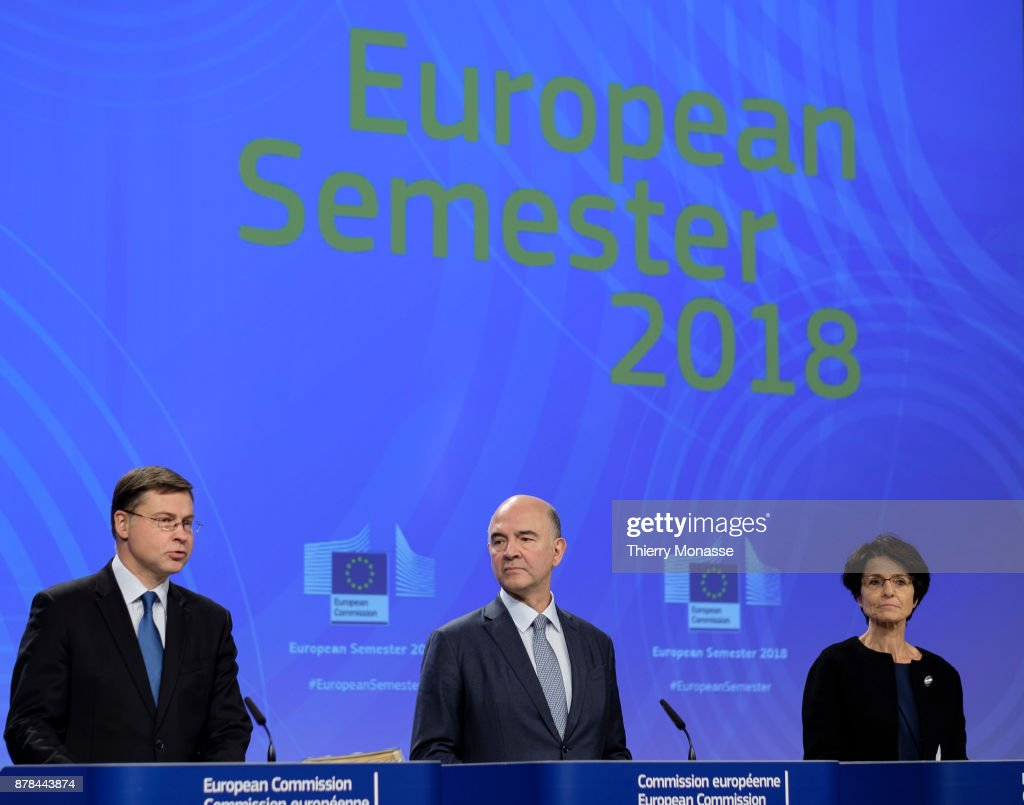 Weekly Meeting Of The EU Commission In Brussels