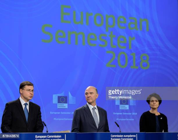 Euro and Social Dialogue and Financial Stability Financial Services and Capital Markets Union Commissioner Valdis Dombrovskis the EU Economic and...