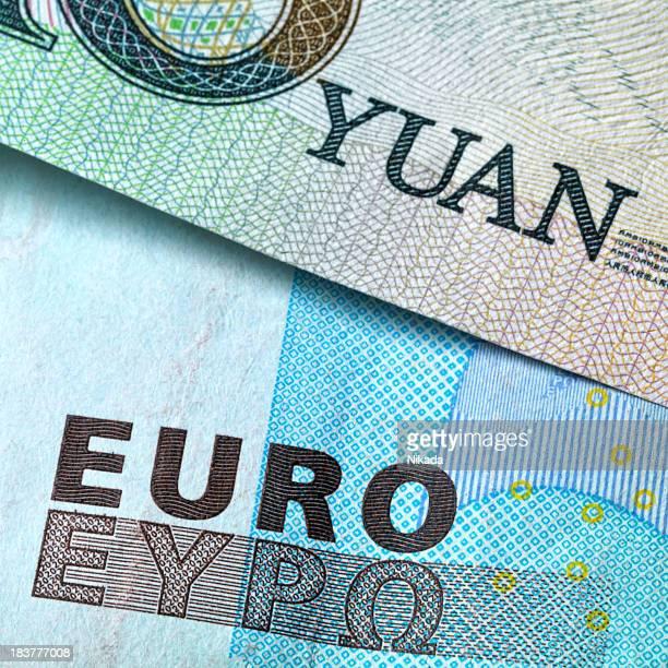 Euro and Yuan