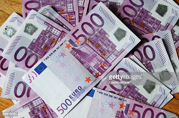 Euro banknotes on May 09 2010 in Munich Germany