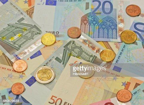 euro Geldscheine : Stock-Foto