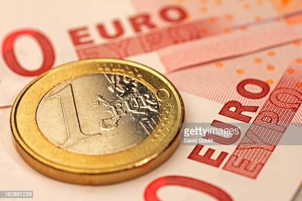 Euro coin and bank notes