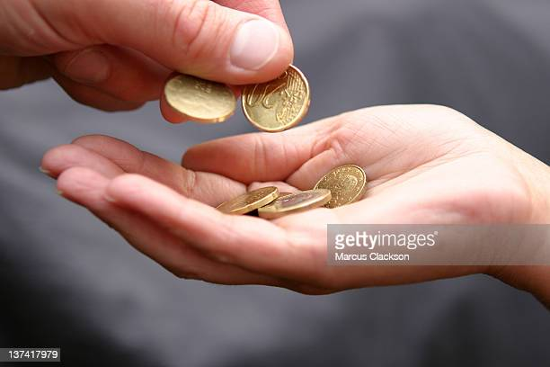 Euro coin payment