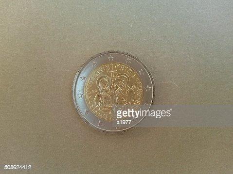 Euro coin : Stock Photo