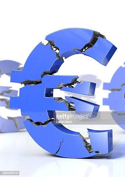 Euro crisis, conceptual artwork