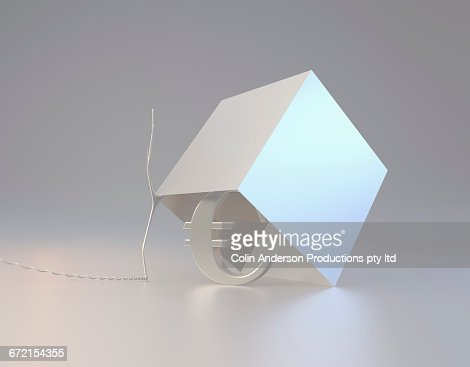 Euro symbol inside box trap