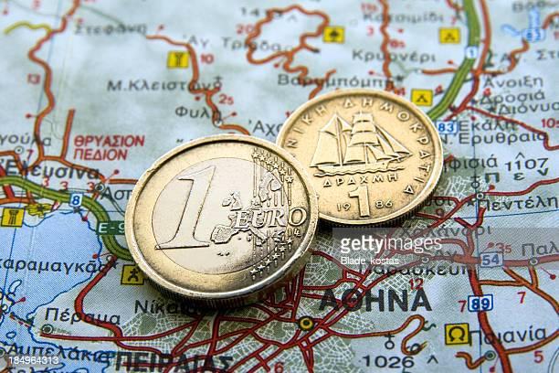Euro vs Drahma
