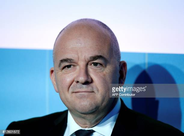 Euronext Group's Chairman and CEO Stephane Boujnah attends a session at the Paris Europlace international financial forum in Paris on July 11 2017 /...