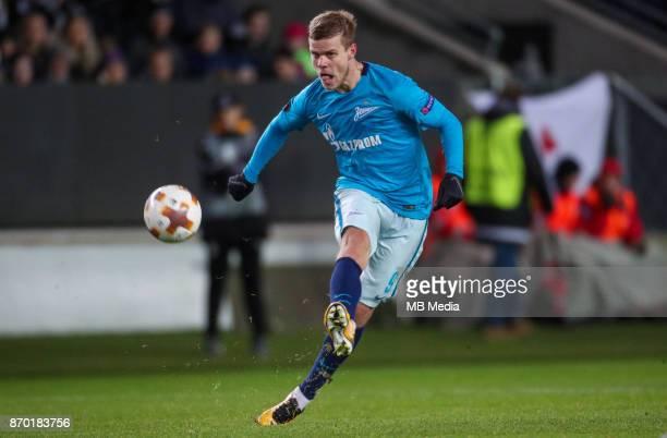 Rosenborg BK 11 Zenit St Petersburg Zenit St Petersburg's Aleksandr Kokorin