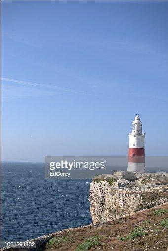 Europa Point Lighthouse : Foto stock