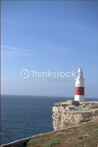 Europa Point Lighthouse : Foto stock