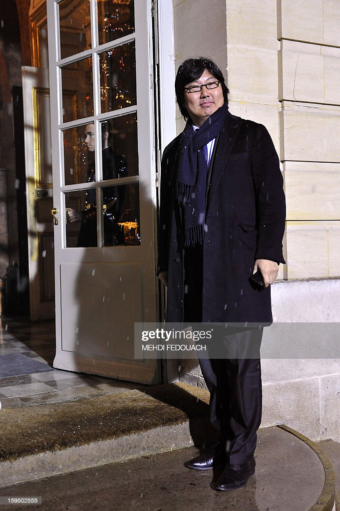 Europe Ecologie-Les Verts (EELV) senator Jean-Vincent Place arrives for a meeting hosted by French Prime Minister to inform leaders of French political parties on France's military intervention in Mali on January 14, 2013 at the Hotel Matignon in Paris. France launched its operation against Mali-based Islamists on a unilateral basis on January 11, but has since been offered logistical support by several NATO allies, including Belgium, Britain, Denmark, Germany and the United States.