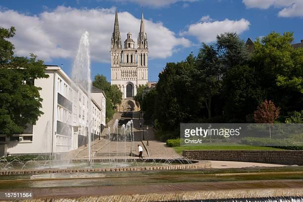 Europa, Frankreich, Maine et Loire, Angers, die Kathedrale St. Maurice