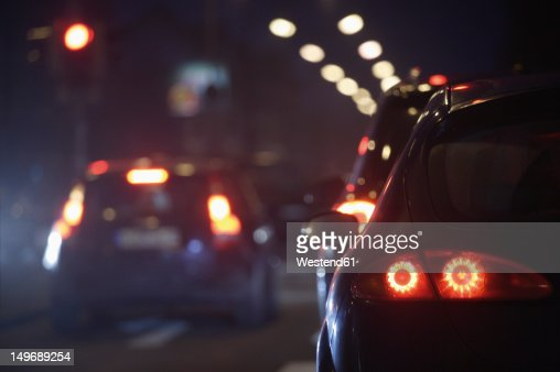Europe, Germany, Bavaria, Munich, Rush hour at evening