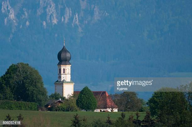 Europe, Germany, Bavaria, View Of Bavarian Church