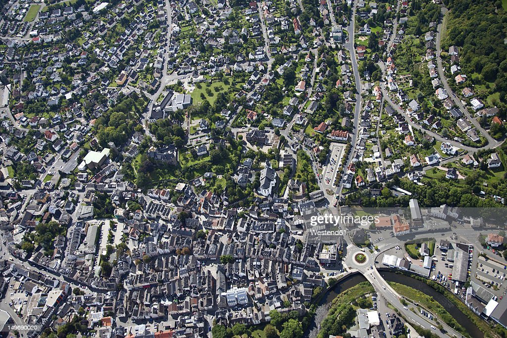 Europe, Germany, Herborn, View of town