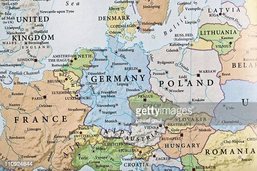 Europe Map Stock Photo Getty Images - Map europa