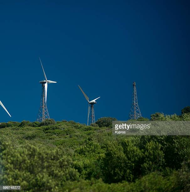 Europe, Spain, Algeciras Area, View Of Wind Turbine Generator