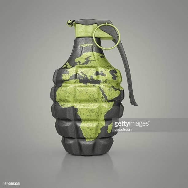 ヨーロッパ/アフリカ手榴弾