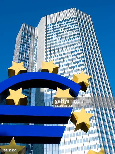 European Central Bank, Frankfurt am Main, Hesse, Germany, Europe