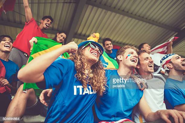 European championship supporters and love