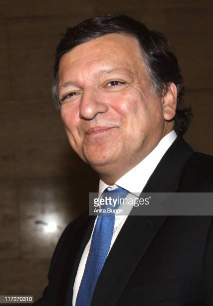 European Commission President Jose Manuel Barroso attends the 2009 Quadriga Awards on October 3 2009 in Berlin Germany