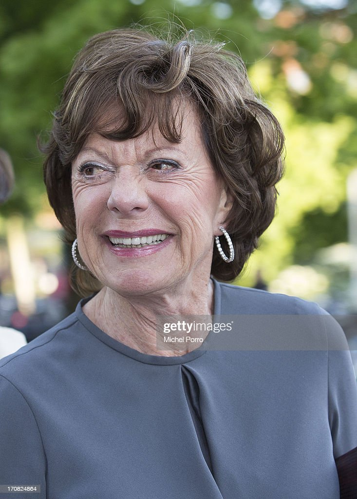 European Commissioner for Digital Agenda <a gi-track='captionPersonalityLinkClicked' href=/galleries/search?phrase=Neelie+Kroes&family=editorial&specificpeople=754723 ng-click='$event.stopPropagation()'>Neelie Kroes</a> attends the opening of the Holland Festival on June 1, 2013 in Amsterdam, Netherlands.