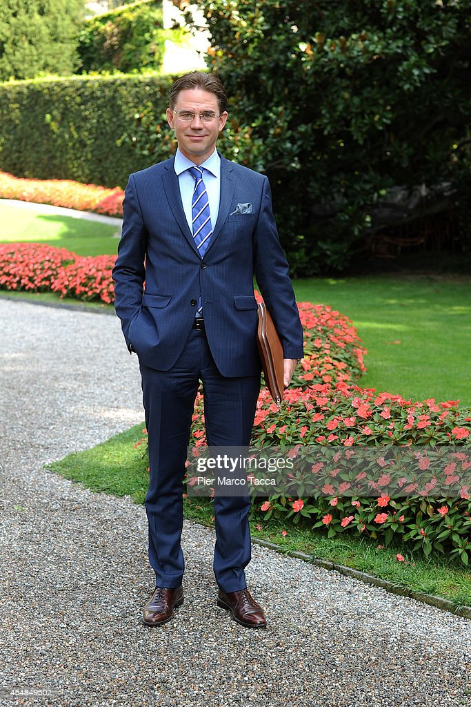 European Commissioner for Economic and Monetary Affairs and the Euro <a gi-track='captionPersonalityLinkClicked' href=/galleries/search?phrase=Jyrki+Katainen&family=editorial&specificpeople=3014648 ng-click='$event.stopPropagation()'>Jyrki Katainen</a> poses for a photo at the Ambrosetti International Economy Forum at Villa d'Este Hotel on September 7, 2014 in Como, Italy. 'Intelligence on the World, Europe and Italy' is the title of the workshop of the 40th edition of Ambrosetti International Economy Forum the intent of the workshop is to offer Italian and International decision-makers the opportunity for serious, high-level examination with the support of studies and statistics of geopolitical, economic, technological and social scenarios and their implication for business.