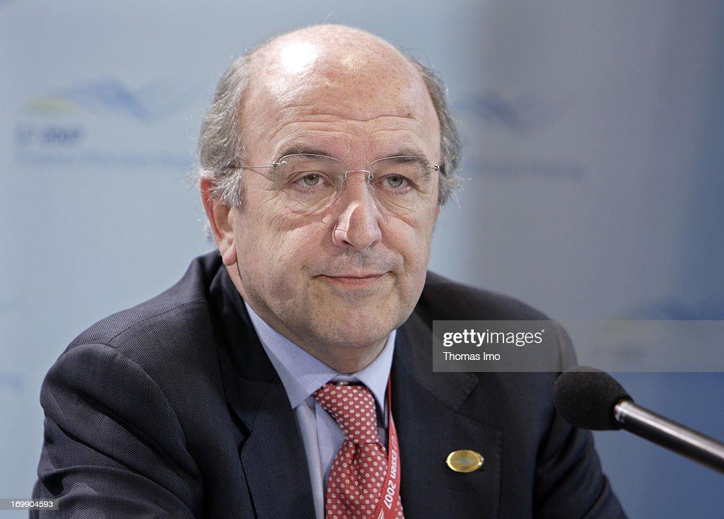 European Commissioner, Joaquín Almunia