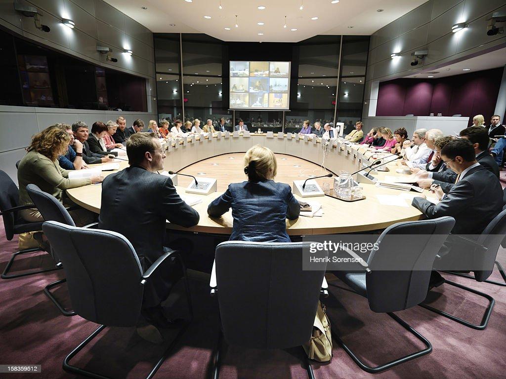 European Council, EEC : Stock Photo