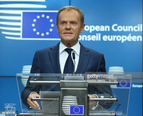 European Council President Donald Tusk European Trade Union General Secretary Luca Visentini Estonian Prime Minister Juri Ratas Vice President of the...