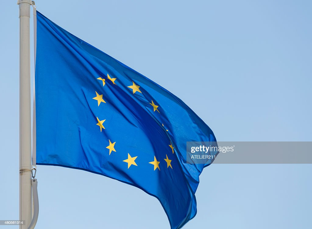 European flag : Stock Photo