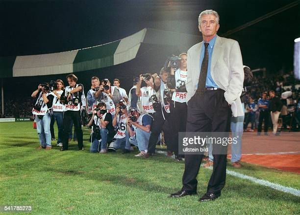 UEFA European Football Championship 2000 Preliminary round European Zone Group 3 match in Bursa Turkey vs Fed Rep of Germany 10 German national team...