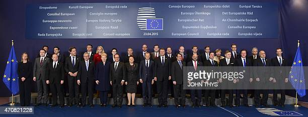 European heads of state and government Italian Prime minister Matteo Renzi Greek Prime Minister Alexis Tsipras Irish Prime minister Enda Kenny...