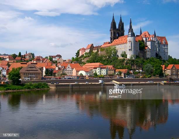Europäische alte Burg in Meissen