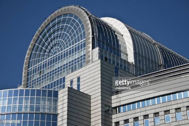 European Parliament Building Brussels Belgium
