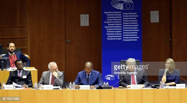 European Parliament Chief Antonio Tajani High Representative of the European Union for Foreign Affairs and Security Policy and VicePresident of the...